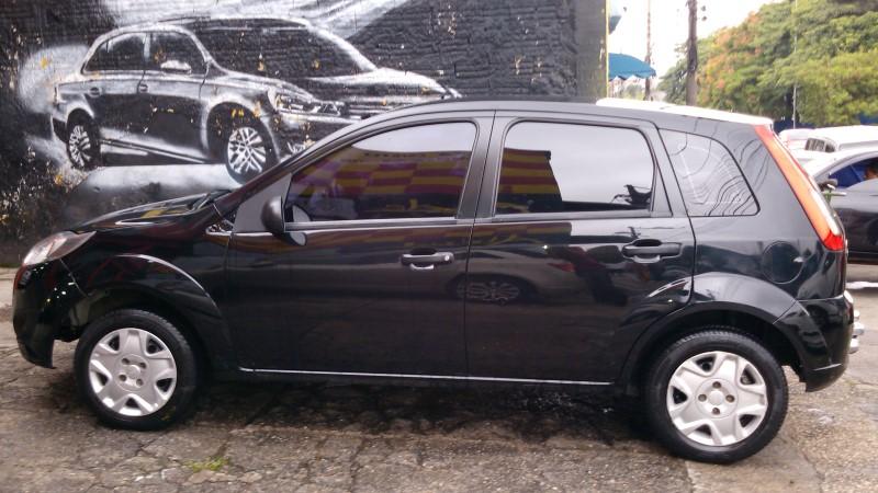 Ford Fiesta 2012 Preto : Atitude Carros Batidos